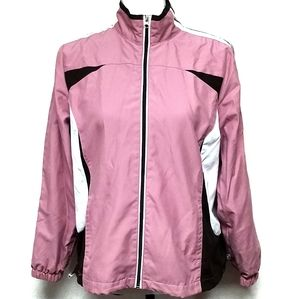 Saint John's Bay Pink Lightweight Mesh Jacket